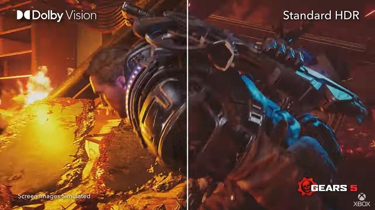 Dolby Vision para juegos ahora disponible en Xbox Series X y S