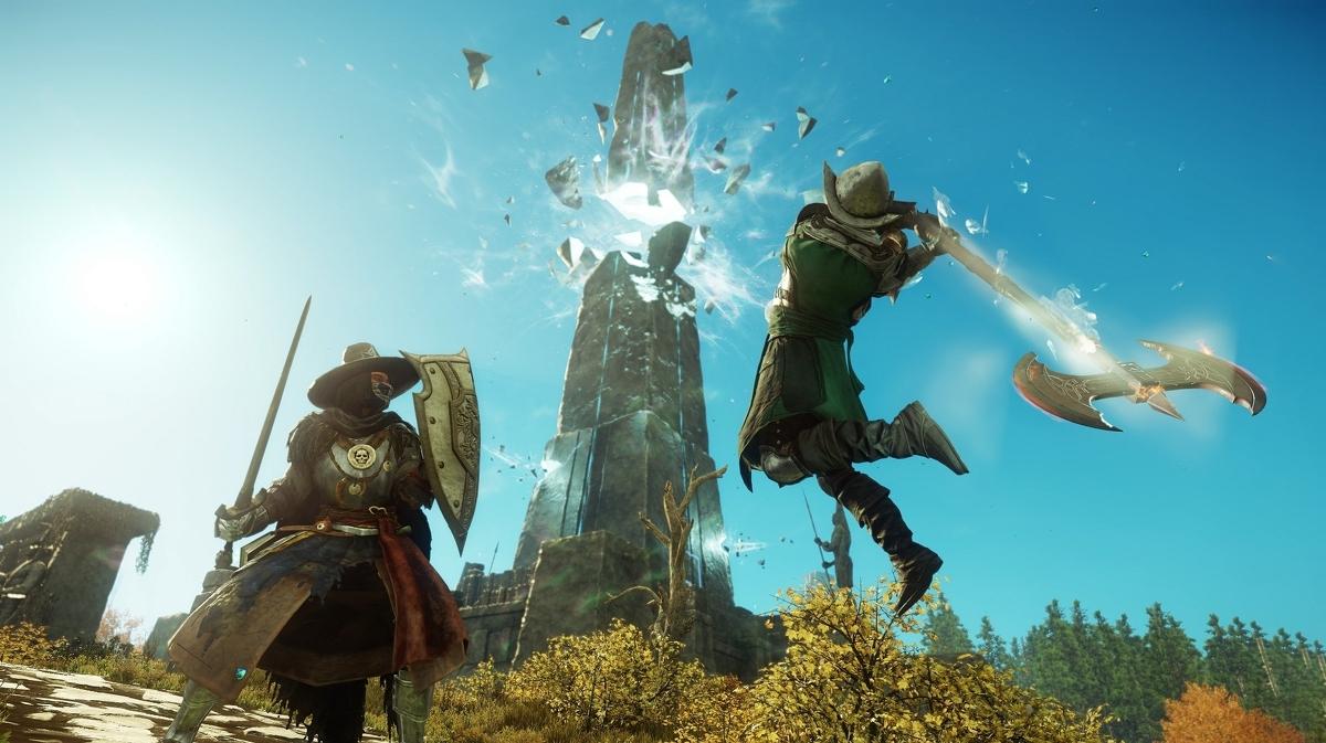New World es el primer éxito de videojuego de Amazon con medio millón de jugadores simultáneos en Steam
